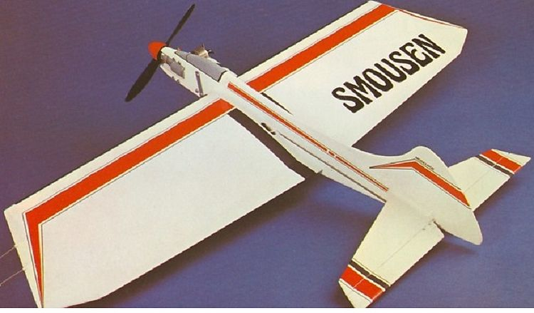 Smousen model airplane plan