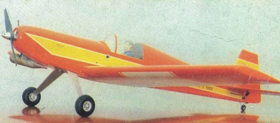 Skaut model airplane plan