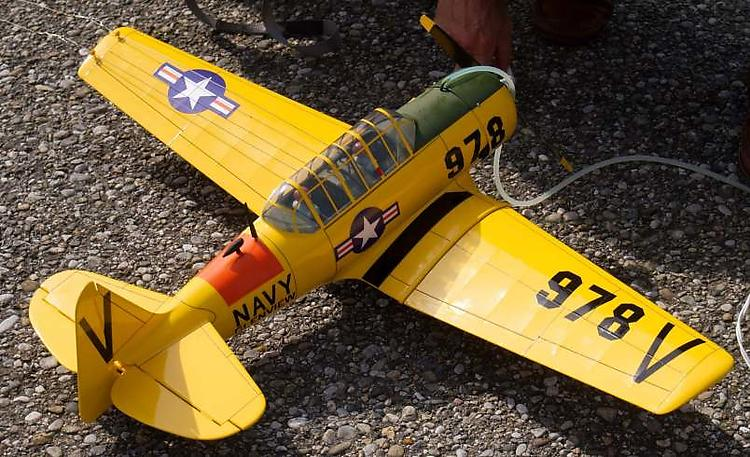 Texan AT-6 model airplane plan