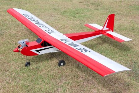 Telemaster 40 model airplane plan