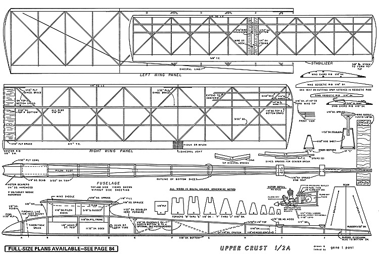 Upper Crust-AAM-06-73 model airplane plan