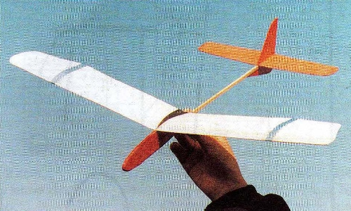 Volavka model airplane plan