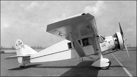 Bellanca Skyrocket model airplane plan