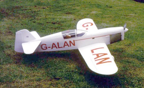 CHORUS GULL model airplane plan