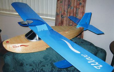 WAVE FLYING BOAT model airplane plan