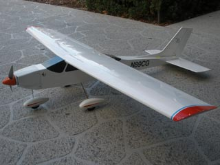 Freedom 20 model airplane plan