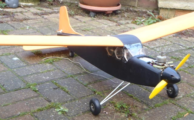 mini Super model airplane plan