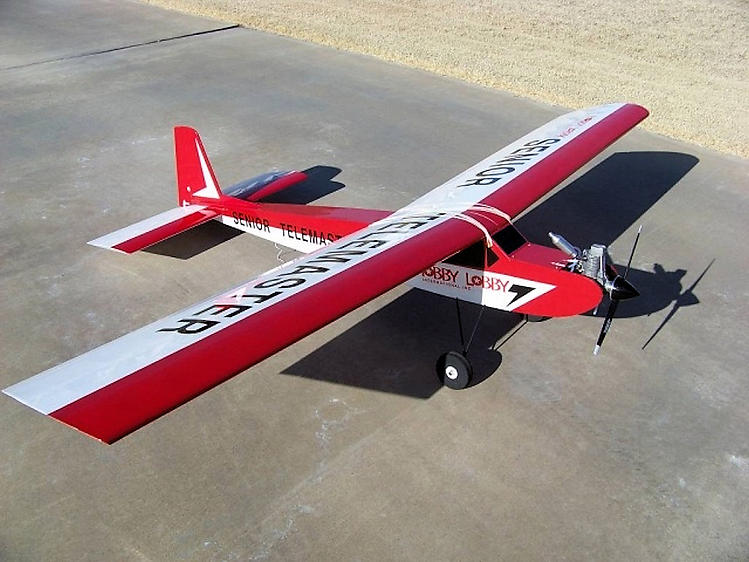 Telemaster Olympic model airplane plan