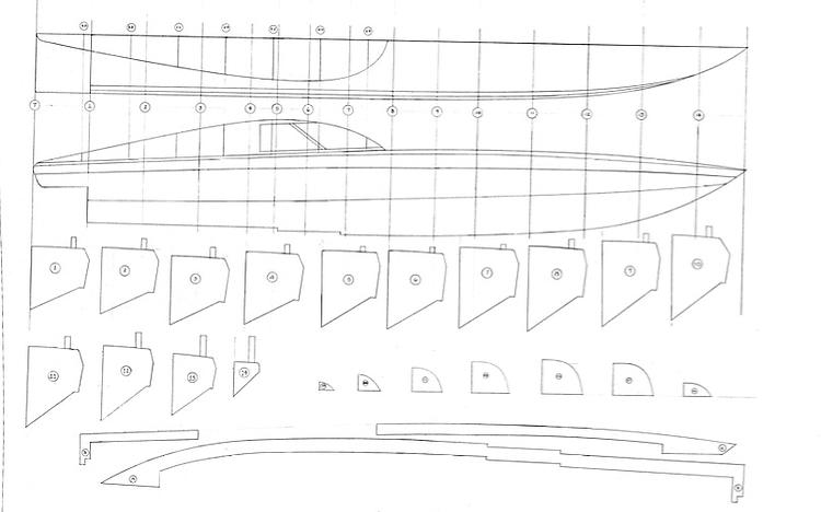 Boat and Sailboat Plans : Plans - AeroFred Model Airplane Free Plans ...