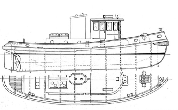 Tug Boat Plans Download 5 | Free Boat Plans TOP