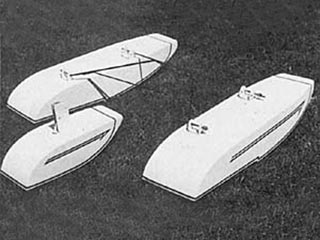 Antique & Old Timer Floats model airplane plan