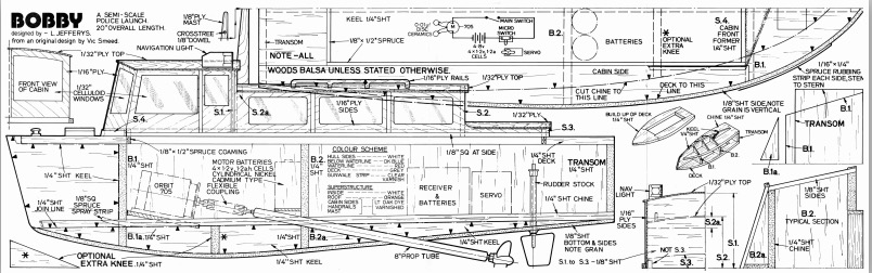 BOBBY Plans - AeroFred - Download Free Model Airplane Plans