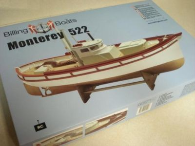MONTEREY 522 model airplane plan