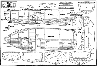 Ohm Maid model boat plan Plans - AeroFred - Download Free Model ...