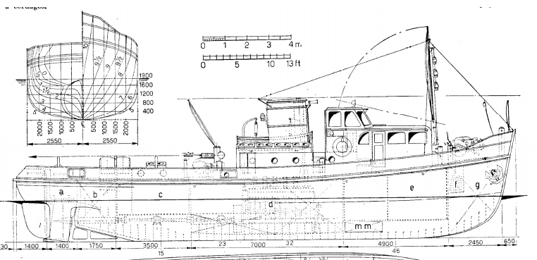 TUGBOAT Plans - AeroFred - Download Free Model Airplane Plans
