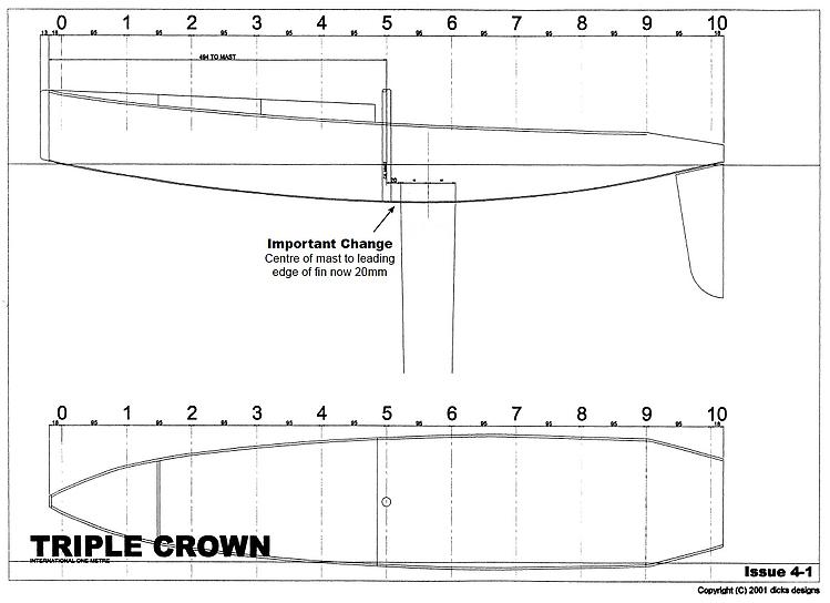 TRIPLECROWN Feb04 model airplane plan