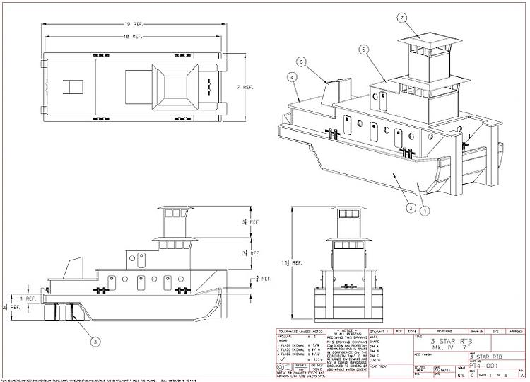 RIVER TOW BOAT Plans - AeroFred - Download Free Model ...