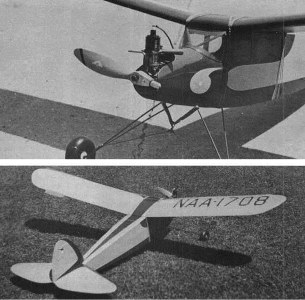 1938 Berryloid Winner model airplane plan