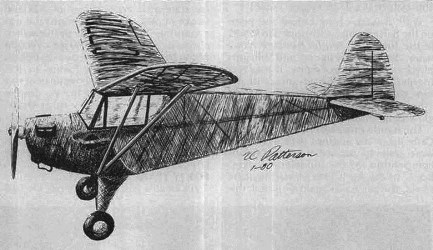 Aeronca Tandem model airplane plan