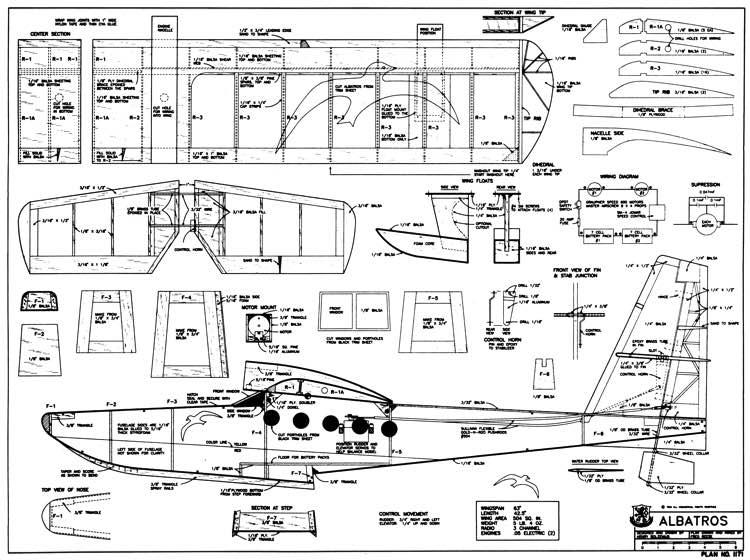 albatros plans - aerofred