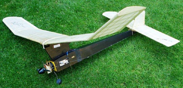 All American model airplane plan