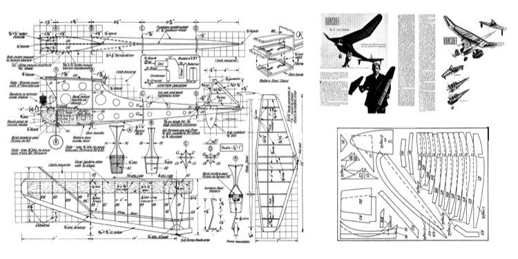 Banshee model airplane plan