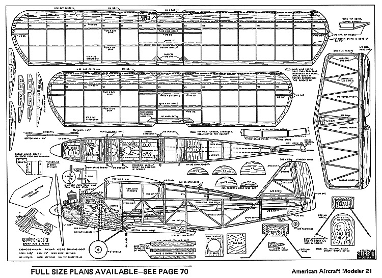 Bippi Bipe-AAM-11-71 model airplane plan
