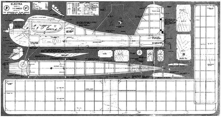 Electra 300dpi model airplane plan