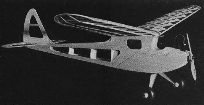 Fizz-Wiss model airplane plan