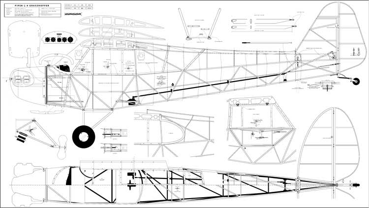 Grasshopper 2 model airplane plan
