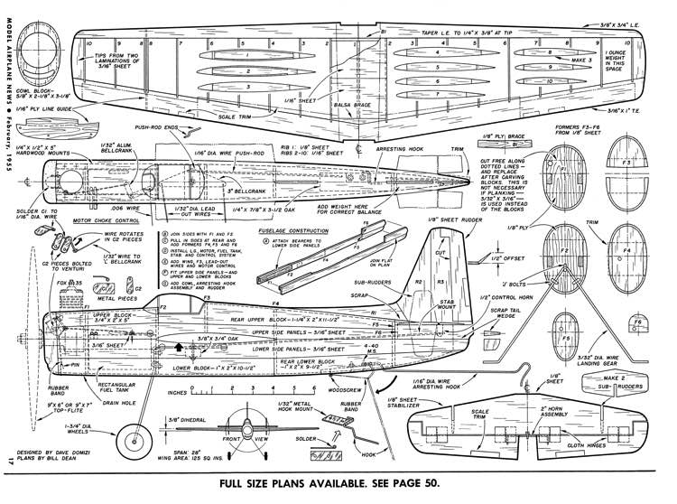 Guardian-MAN-02-55 model airplane plan