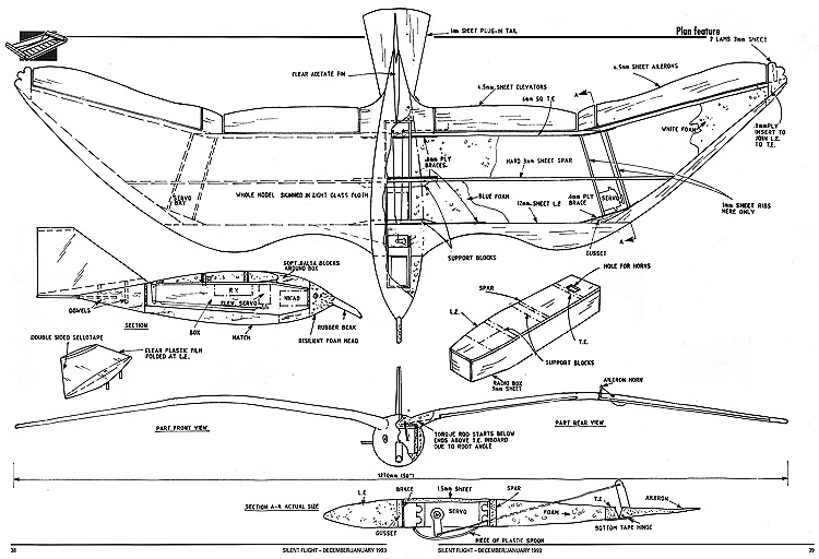 ... Model Seagull Plans - AeroFred - Download Free Model Airplane Plans