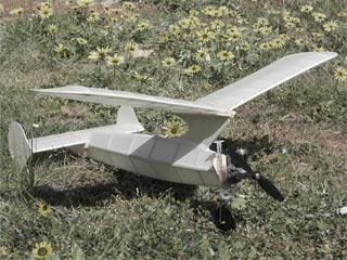 Half Pint model airplane plan