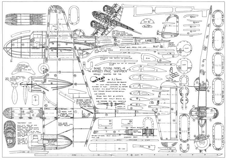 Handley Page Hampden Plans Aerofred Download Free