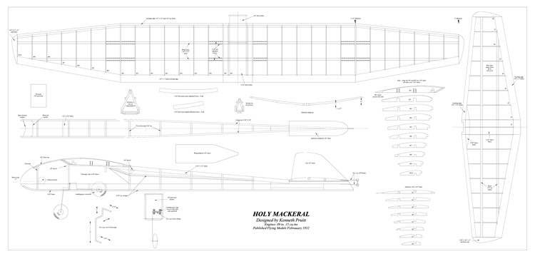Holy Mackeral model airplane plan