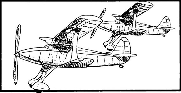 Kiltie Gull model airplane plan