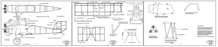 Kinner Crackerbox-FAC model airplane plan