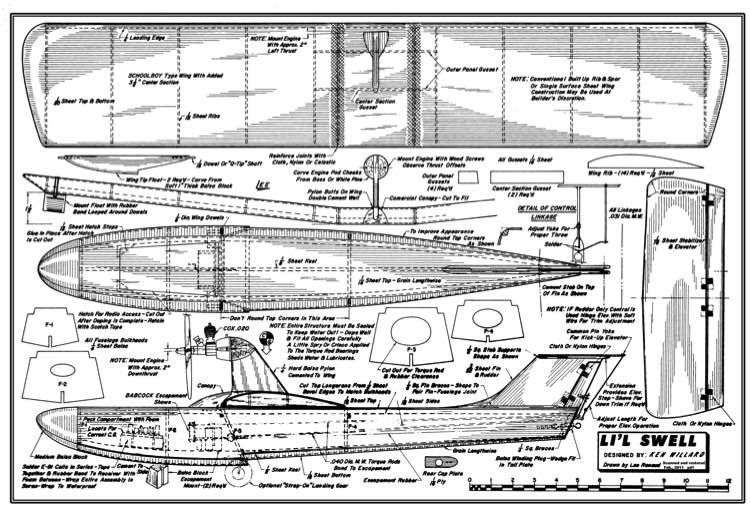 Lil Swell 2 model airplane plan