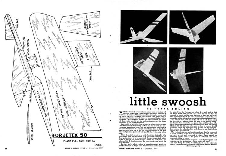 Little Swoosh-MAN-09-49 model airplane plan