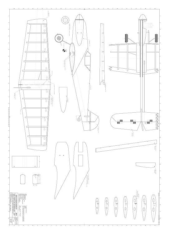 Messerschmitt 109 15 model airplane plan