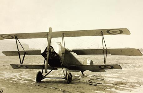 Nieuport 11-C model airplane plan