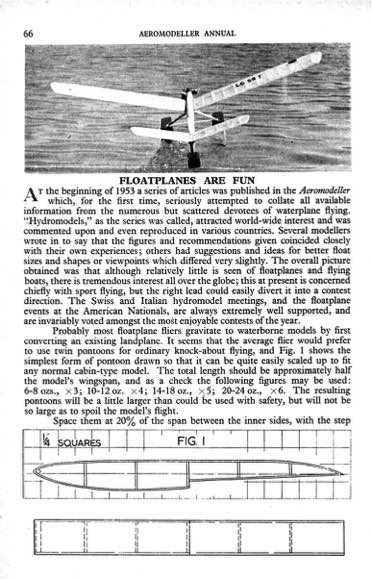 Nirvana model airplane plan