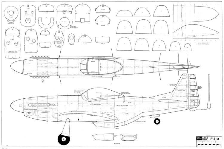 P 51d Frank Baker Plans Aerofred Download Free Model