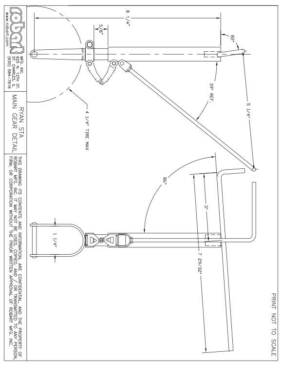RYN model airplane plan