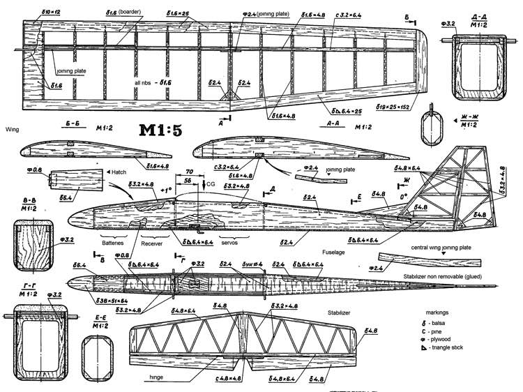 *gnat* Plans - AeroFred - Download Free Model Airplane Plans