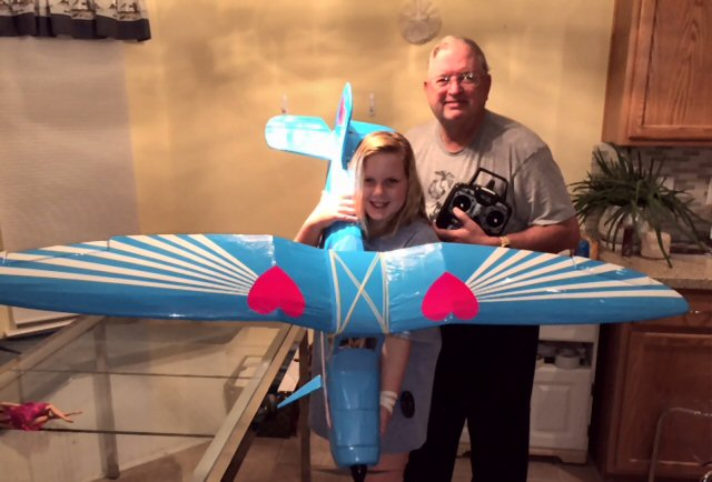 Barbie's SportAire model airplane plan