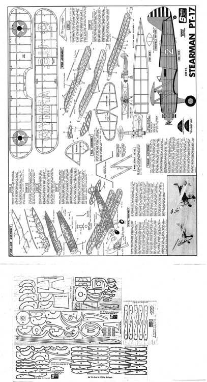 Sterling stearman pt 17 plans aerofred download free for Sterling plan