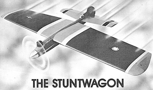 Stuntwagon model airplane plan
