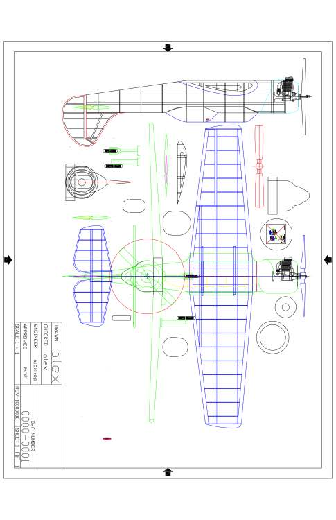 Ayk-52-53 Model model airplane plan