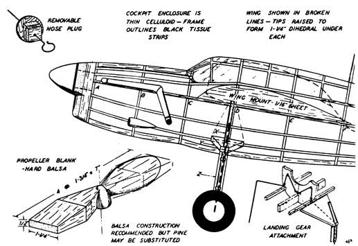 barp1 model airplane plan